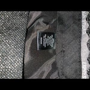 Express Shorts - Express Black & Silver Cuffed Shorts